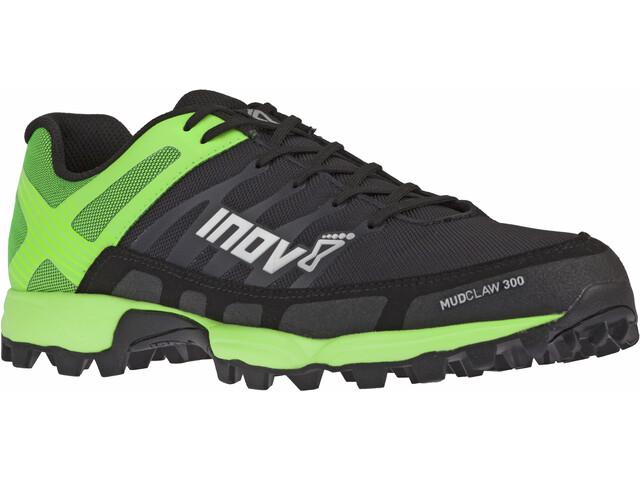 inov-8 Mudclaw 300 Hardloopschoenen Heren, black/green